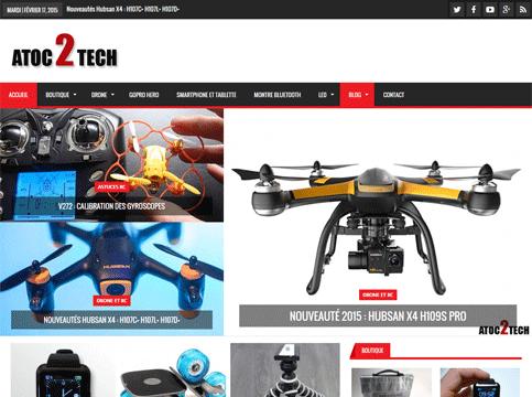site internet atoc2tech.fr