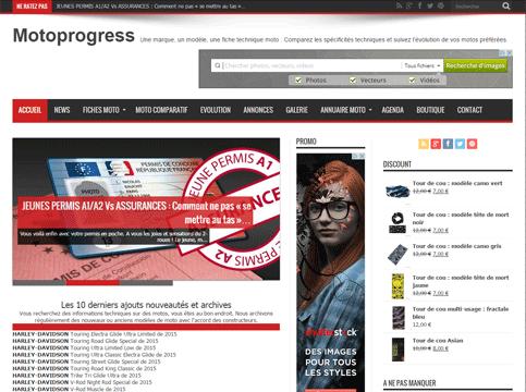 site internet motoprogress